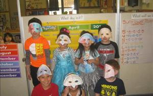 Celebrating the Week of the Young Child in our pre-k classroom!
