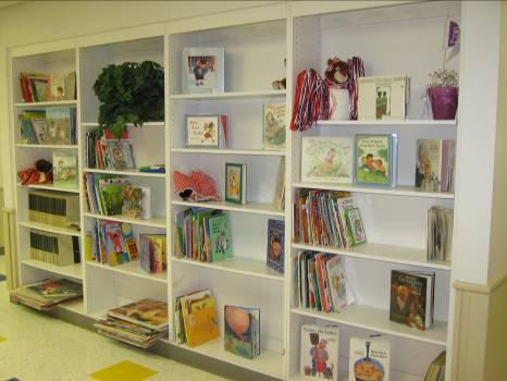 Our Library allows our teachers to keep the books in the classroom fresh and interesting for their students.  They can swap them out whenever they need a fresh batch.