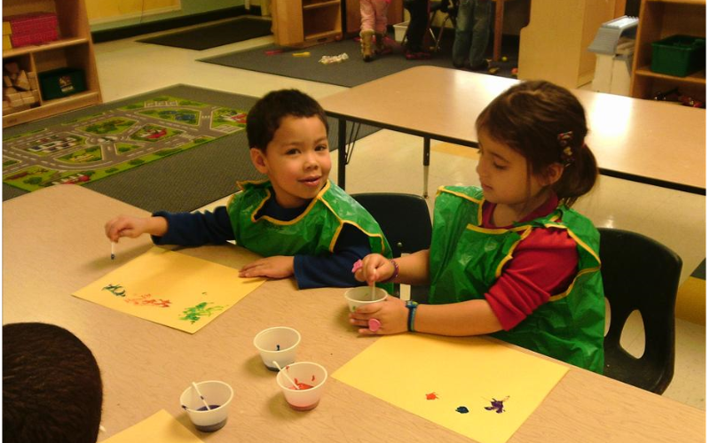 Creative expression helps Pre-Kindergarten children develop a sense of self as well as fine motor skills