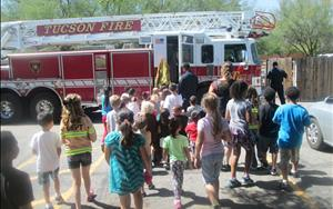 Visit from the Fire Department!