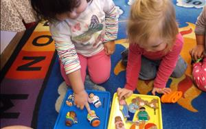 Small group activities are a great way for children to develop social and cognitive skills.