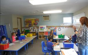 Our Private Kindergarten has small classroom size which ensures more individualized and one on one instruction for each student.