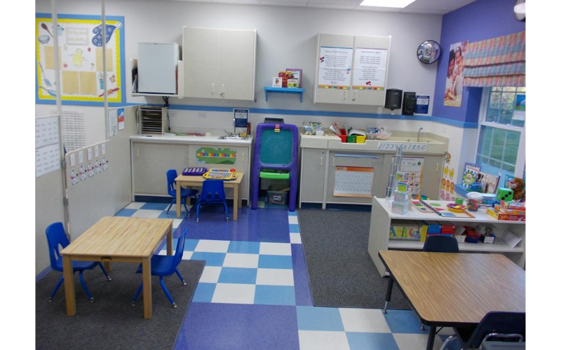 Math and Phonics room (Learning Adventures)