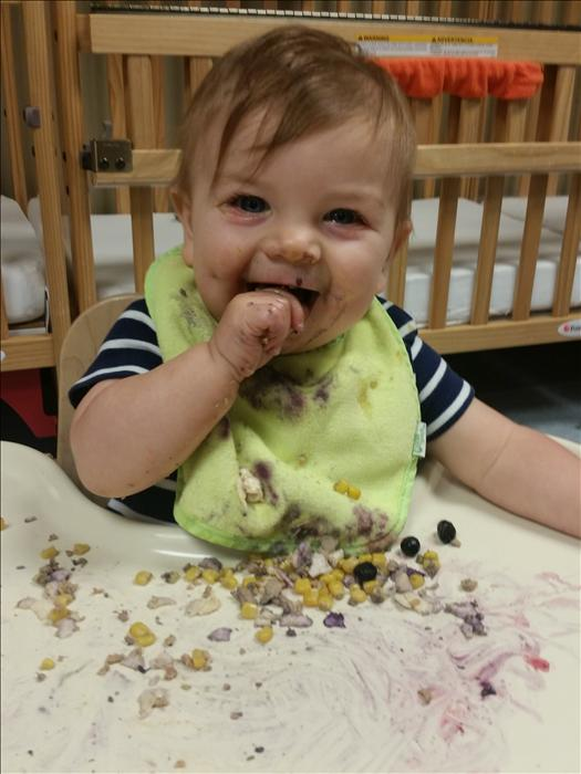 We love lunch at KinderCare!