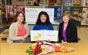 Congratulations to Ms. Cheryl for being one of this year's Knowledge Universe Early Childhood Educator Award winners!
