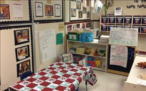 Our Phonics Adventure classroom where we begin to read!