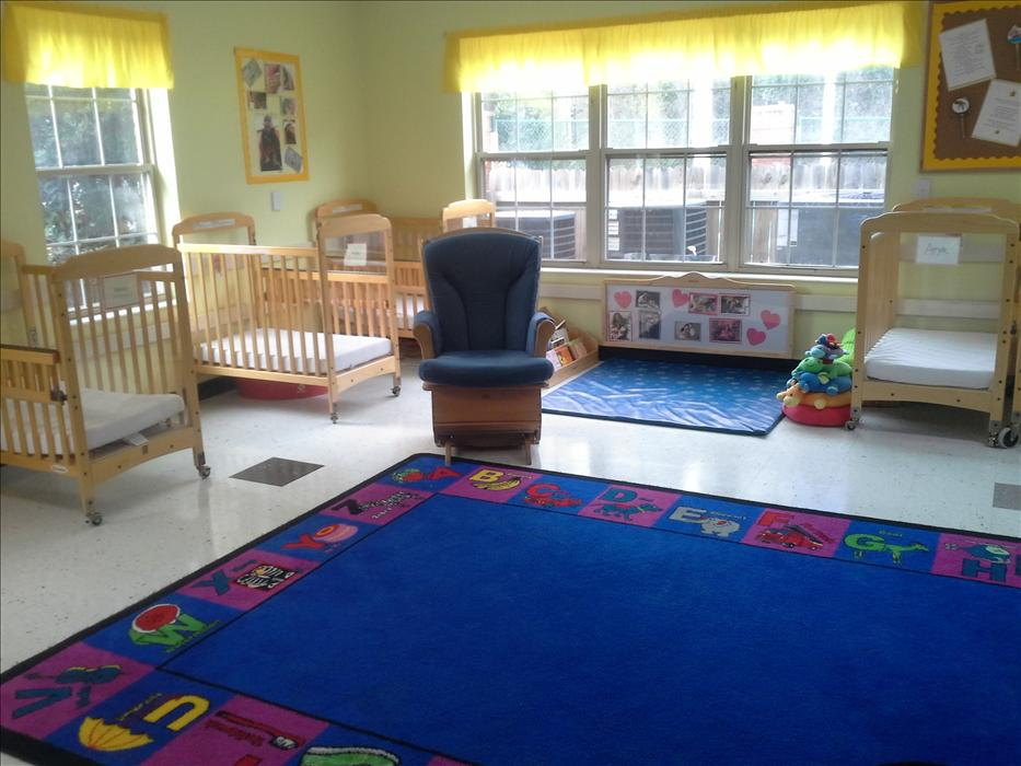 Our infant room is a warm and wonderful environment where our babies grow and learn.