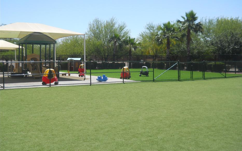 Open, grassy area for plenty of activities and games.
