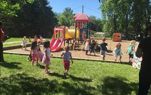 Preschool and Prekindergarten playground. Come play with us!!