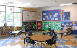 School Age Classroom: A comfortable environment designed to boost your child's confidence, self-esteem, character, and social skills.