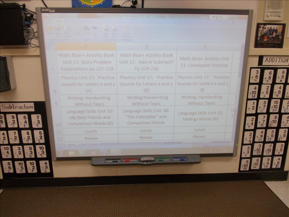 Private Kindergarten Smart Board