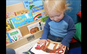 Developing a love for literacy is a crucial step in emerging pre-reading skills.