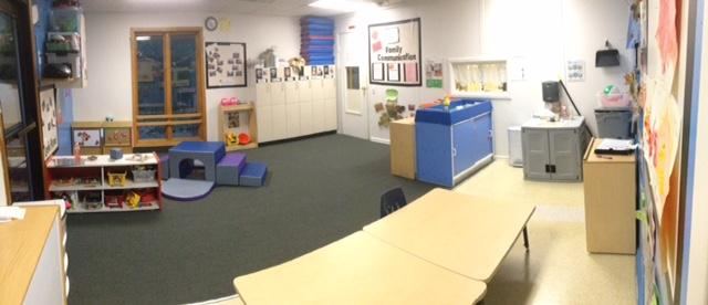 Toddlers!  This room is home to our younger toddlers: 18 months to 2 years.
