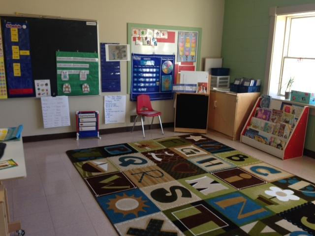 Prekindergarten large group area