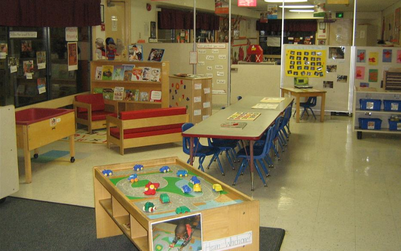 Preschool and Prekindergarten Classrooms