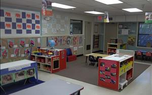 Preschool Room: Science, Math, Music