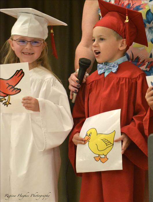 VPK - Our children recap all the things they have learned in VPK at their graduation.