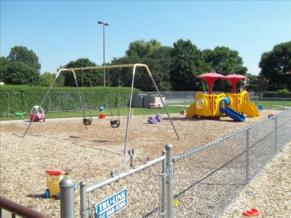 Playground for our Infant through Discovery Preschool Programs