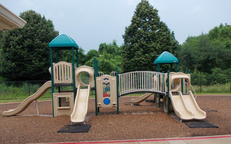 Preschool through School Age Playground