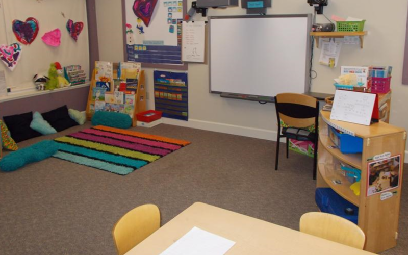 We offer a Private Kindergarten class with a 1:15 ratio, smartboard learning technology and many more acrive school days than traditional public school offerings.
