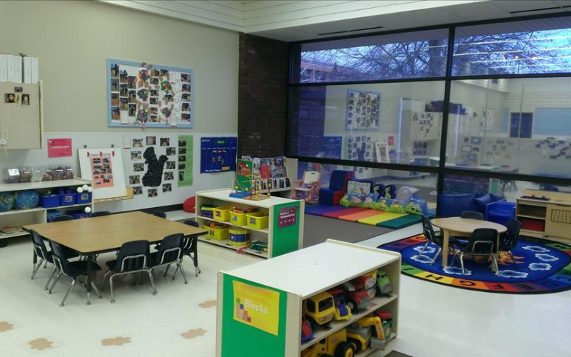Our Discovery Preschool classrooms are designed specifically for children 24 to 36 months of age.  Our Early Foundations Discovery Preschool curriculum introduces children to a world of learning, sharing, and exploration.
