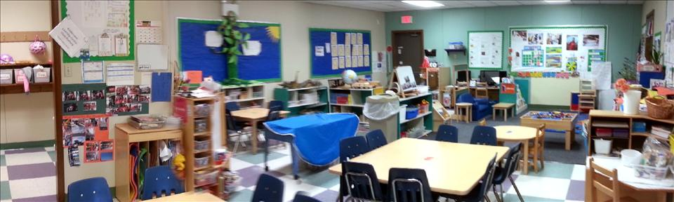 Transitional PreK and Before and After School Kindergarten Classroom