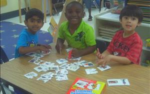 Math matching games!