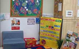 Circle time in discovery preschool is full of stories both in song, in print and from the children themselves.  It is a time for the children to learn about the calendar, the alphabet, the weather and colors & shapes.
