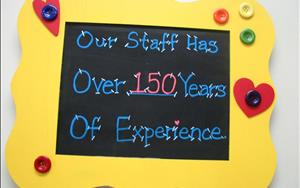 Did you know that all togehter we have over 150 years of experience backing our current staff?  Besides this showing you we have been doing this for a while, I hope it also shows you that we do this because we LOVE what we do!!