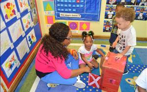 At KinderCare we recognize the importance of play and learning!