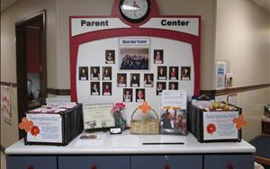 Parent Center in Lobby