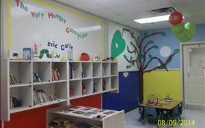 Our center's library!