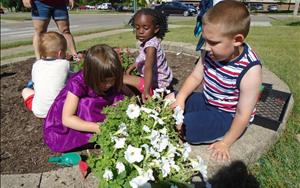 Prekindergarten Plants A Garden, Welcoming Friends to KinderCare