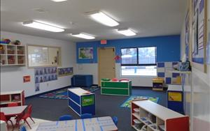 Our Toddler Classroom ranges in age from 18 months to three years old. This room is the beginning of your child's educational experience. The curriculum is focused on language and literacy, fine and gross motor skills, and creative expression.