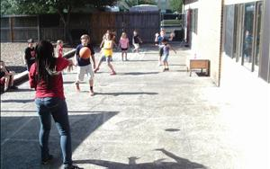Summer Curriculim Activities (Dodgeball)