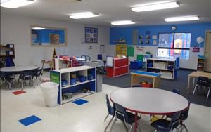 Our Prekindergarten Classroom is completely dedicated to preparing your 4-5 year old child for kindergarten. The curriculum is designed to fully prepare your child for elementary school by mirroring the curriculum in the surrounding areas.