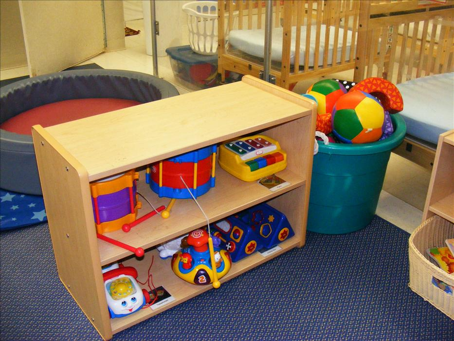Infant room discovery area