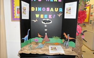 We offer a variety of Mini Camps throughout the year. Dinosaur Week was a blast!