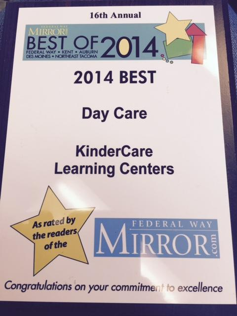 Best of Federal Way(Federal Way Mirror) Best Daycare 2013