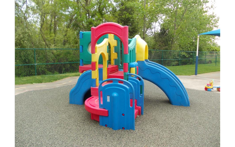 Infant/Toddler/Discovery Preschool playground