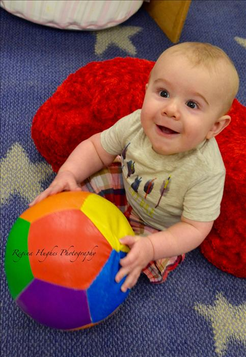 Infants - Look at the joy in our Infant Classroom.