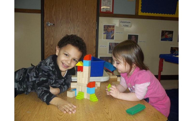 We can build a whole new world at KinderCare!