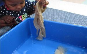 Sensory Play- Wet and Messy