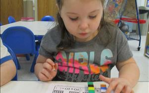 Children learn to solve problems through investigation and exploration.