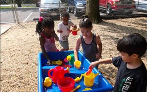 Taking the fun outdoors at Telegraph Road KinderCare!