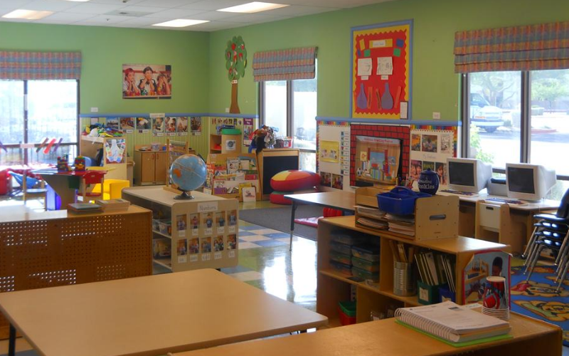 Prekindergarten Classroom: Activities and lessons that help prepare your child for success in kindergarten and beyond.