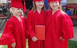 Every May, our Prekindergarten students have a graduation ceremony as we celebrate their time at KinderCare.