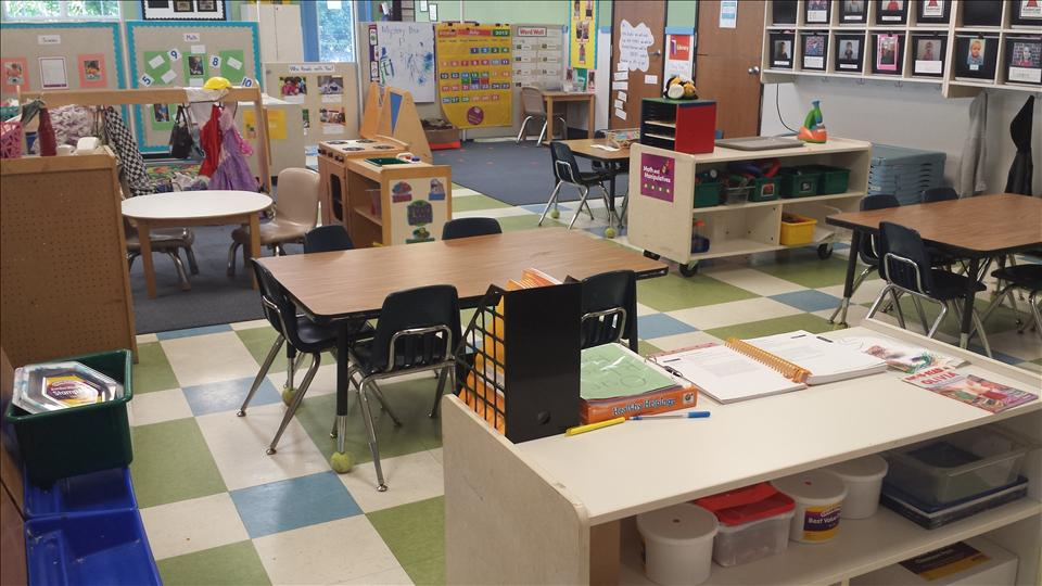 Ms. Grace's Preschool classroom