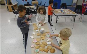 Our friends learned some great baking skills during Cookie Club!