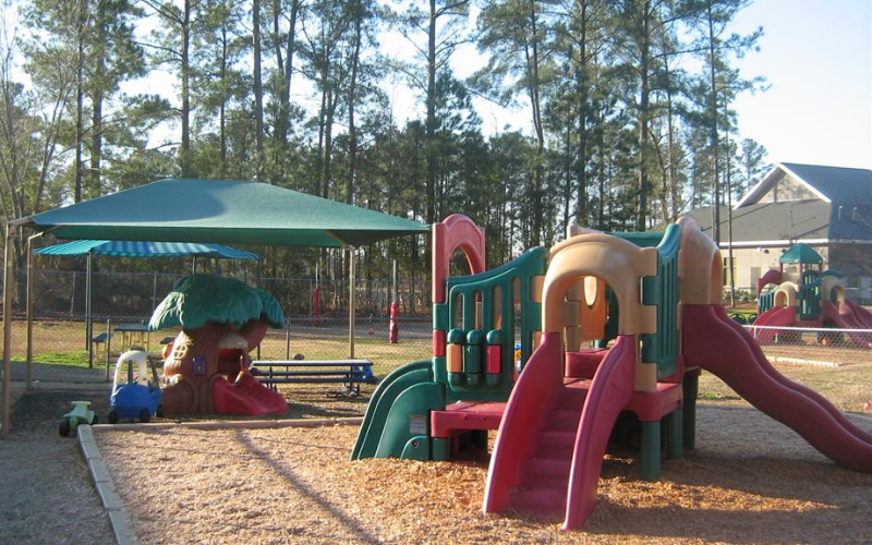 Infant, Toddler and Discovery Preschool Playground